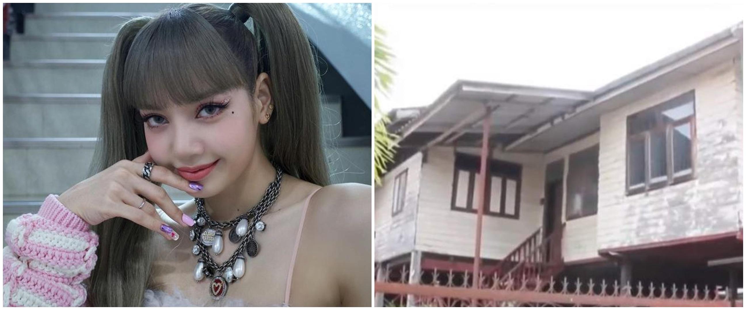Idol K-Pop termahal, intip 9 potret hunian Lisa Blackpink dulu & kini