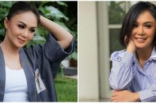 7 Kesederhanaan Yuni Shara, tak jaim pakai jasa permak jeans keliling