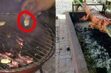 11 Penampakan lucu makanan saat dibakar ini absurd bukan main