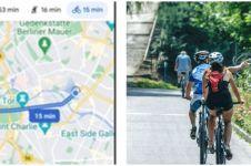 3 Cara bernavigasi ramah lingkungan di Google Maps, pesepeda terbantu