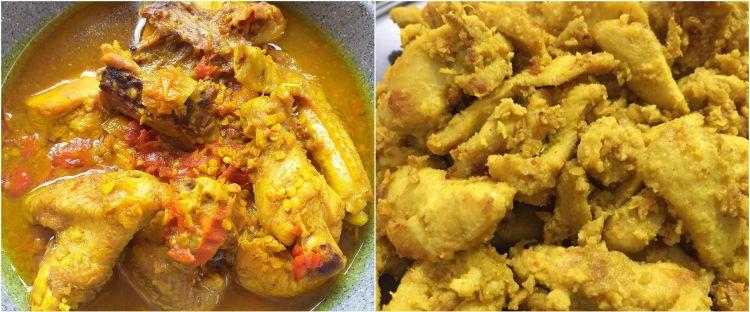 9 Resep kreasi ayam kunyit rumahan, bikinnya sederhana, rasanya juara