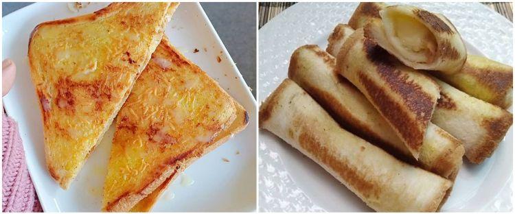 11 Resep kreasi roti bakar keju, gurih dan cocok jadi menu sarapan