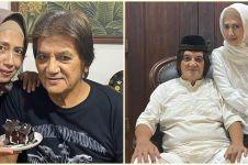 40 Tahun bersama, 9 potret mesra George Rudy dan istri layaknya ABG