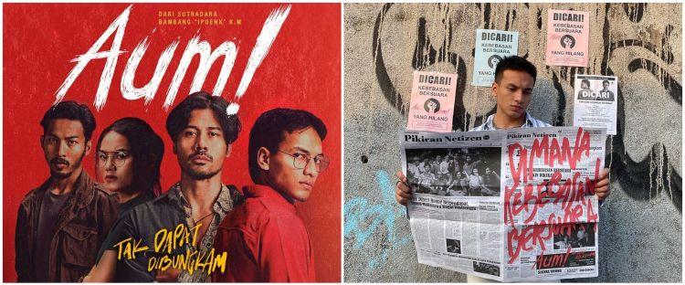 Angkat kisah reformasi 1998, film Aum! dapat sambutan positif penonton