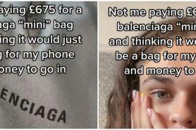 Beli online tas Balenciaga Rp 13 juta, wanita ini syok liat ukurannya