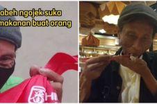 Curhat haru driver ojol ditraktir anak makan sushi untuk pertama kali
