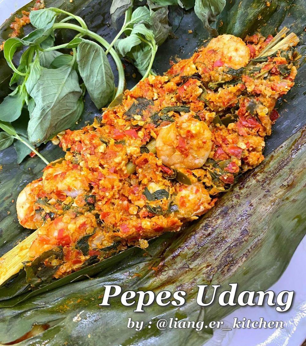 resep pepes udang  berbagai sumber