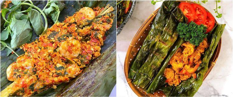 9 Resep kreasi pepes udang, nikmat, gurih, aromanya nagih