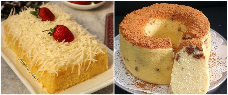 11 Resep kreasi bolu susu, praktis jadi kue untuk berbagai acara