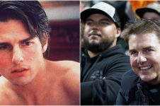 Kini tampil lebih berisi, ini 9 transformasi Tom Cruise masa ke masa