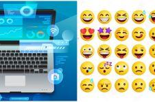 Cara jitu menampilkan Emoji di Windows 10, Windows 8.1, dan Windows 7