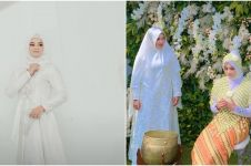Diwarnai tangis haru, 11 foto pengajian & siraman calon istri Ridho DA