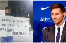 Dinamai Cristiano karena ibunya fans Ronaldo, bocah ini idolakan Messi