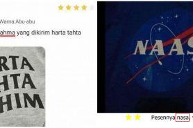 11 Komplain salah tulisan baju ke penjual online shop, lucu banget