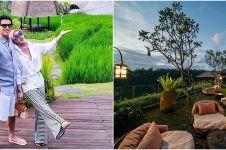 11 Potret resort mewah Reino Barack di Bali, viewnya sawah dan sungai