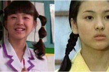 Potret awal karier 9 aktris Korea, rambut kepang Song Hye-kyo khas