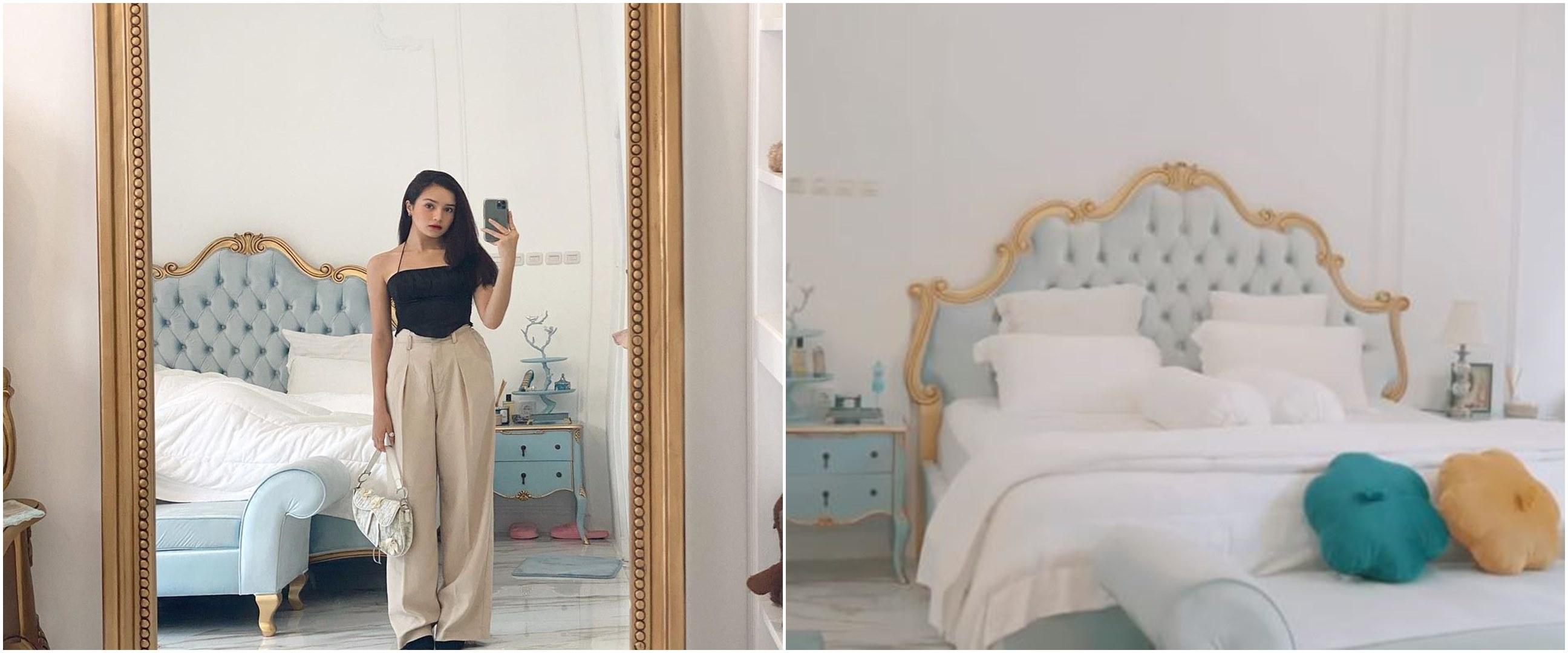 11 Penampakan kamar Beby Tsabina di rumah baru, bergaya victorian