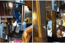 Penjual nasi goreng di Malang pakai robot saat masak, alasannya haru