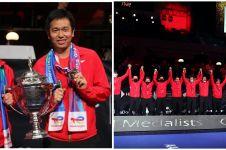Ini alasan bendera Indonesia tak dikibarkan di Thomas Cup 2020