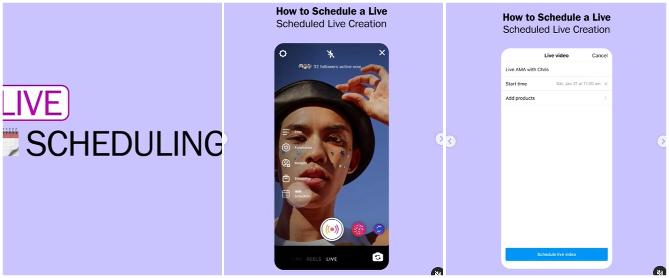 11 Langkah bikin Instagram Live, kini siaran langsung bisa dijadwalkan