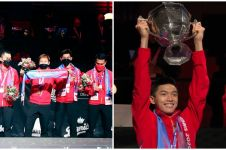 6 Fakta kemenangan Indonesia di Piala Thomas 2020, penantian 19 tahun