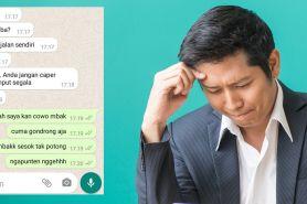11 Chat lucu terlanjur salah paham ini bikin malu sendiri