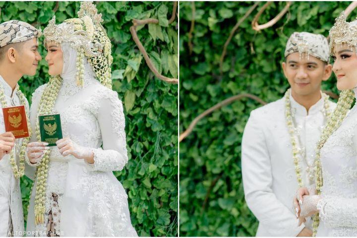 Pesona 4 pedangdut jebolan D'Academy menikah pakai adat Sunda