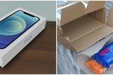 Beli iPhone 12 online, pria ini kaget yang sampai dua bungkus sabun