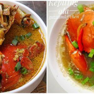 11 Resep kreasi kepiting kuah, gurih, nikmat, dan istimewa