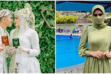 Gaya 7 seleb di pernikahan adik ipar, Nadya Mustika tampil simpel