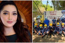7 Momen Ashanty bedah rumah warga, realisasikan impian lama
