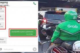 13 Chat absurd pelanggan ojek online ini bikin driver pusing sendiri