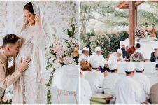 9 Momen tasyakuran 4 bulan kehamilan Siti Badriah, penuh haru bahagia