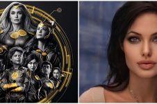 CeritaAngelina jolie soal perannya di film Eternals sebagai Thena