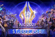 Fantastis, turnamen AOV ini siapkan hadiah total Rp 14 miliar