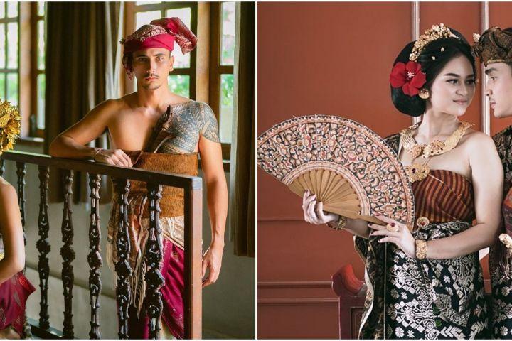 Selain Jessica Iskandar, 7 seleb ini prewedding usung adat Bali