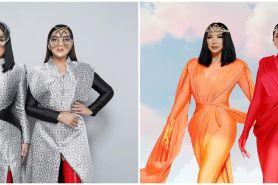 Duet bareng, begini 9 potret Titi DJ dan Ashanty bak Superwoman