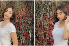 Potret Glenca Chysara pamer baby bump di Ikatan Cinta, fans histeris