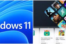 Aplikasi Android akhirnya bisa digunakan di Windows 11, begini caranya