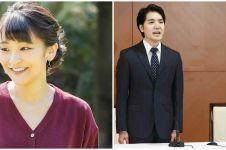 Putri Mako resmi menikah dengan Kei Komuro, prosesinya sederhana