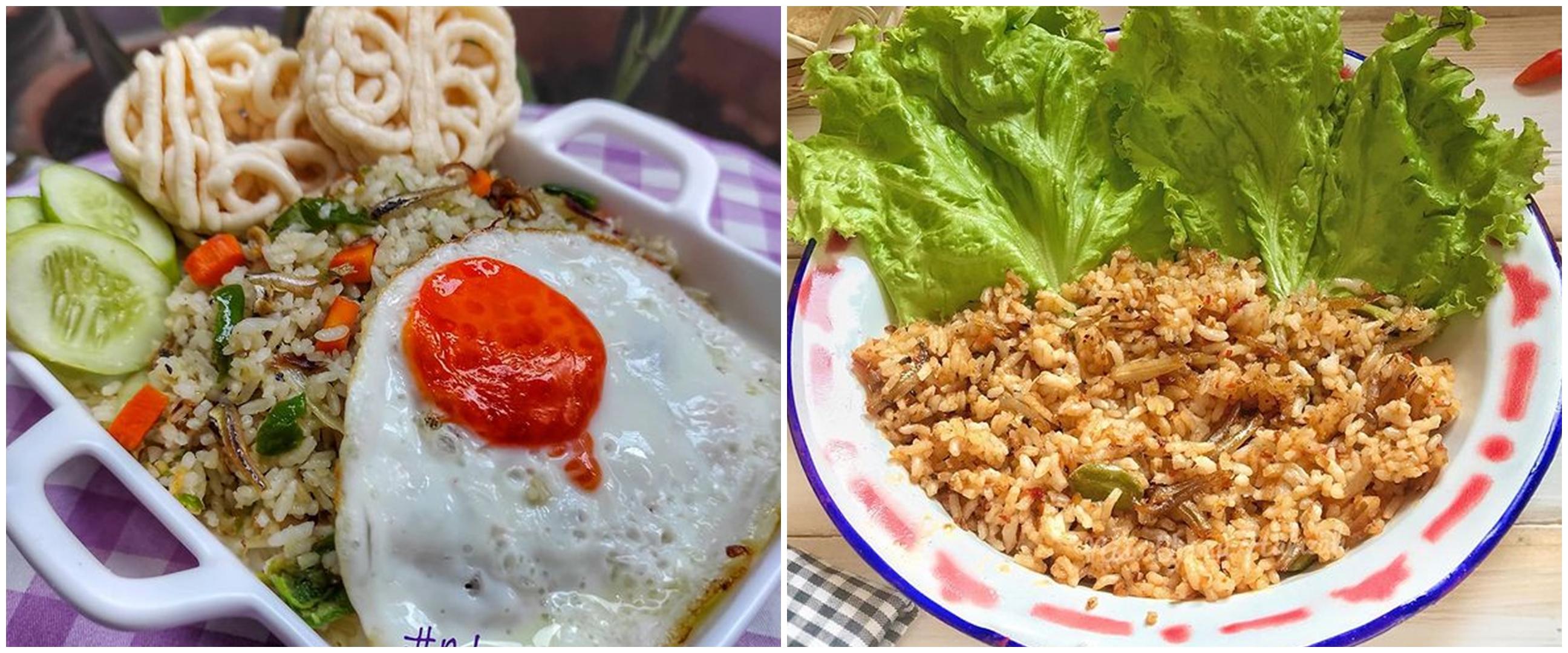 11 Resep kreasi nasi goreng teri, gurih dan bikin nagih