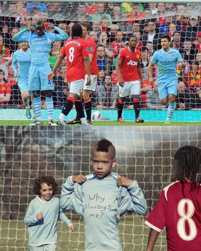 Anak-anak ini tirukan momen besar di sepak bola