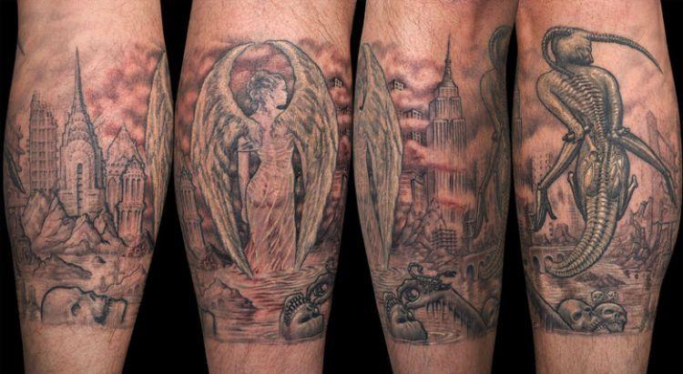 25 Tato Terbaik Bikinan Artis Tato Paling Mahal Sejagat