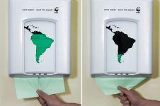 25 Poster kampanye peduli lingkungan terbaik sepanjang masa, keren!