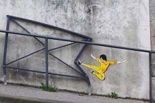 20 Karya hasil vandalisme yang malah terlihat unik & menghibur, wow!