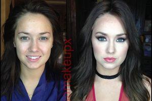 Lagi, 30 foto keajaiban makeup, sebelum dan sesudah beda banget!