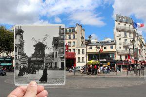 16 Kombinasi foto dulu & sekarang Paris ini sungguh menakjubkan!