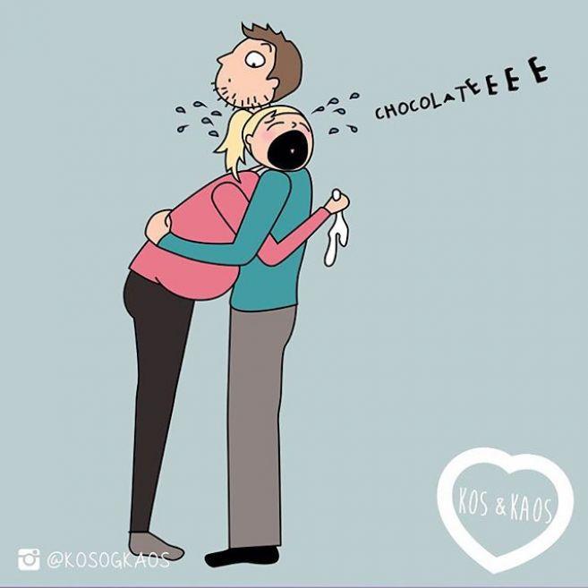 20 Ilustrasi perjuangan ibu hamil ini bakal bikin kamu takut durhaka!
