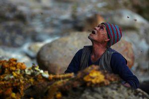 Bikin merinding, ini potret para pemburu madu tradisional di Nepal
