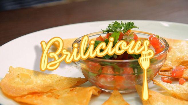 Bikin sendiri Classic Pico de Gallo with Tortilla Chips kamu, yuk!